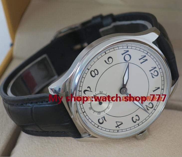44 mm PARNIS big pilot mechanical men's watch 6498 white dial men watches Mechanical watches wholesale free shipping 639392 001 for hp pavilion dv7 dv7 6000 dv7t motherboard 6770 1g all functions 100% fully tested