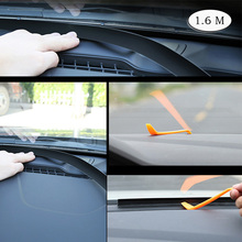 Car Console Sealing Strip Tape Sound Insulation Noise Reduction Dustproof Front Windshield CB007
