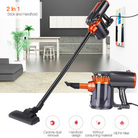 2 in 1 Stick Handheld Vacuum Cleaner Household Dust Sweeper Floor Carpet Aspirator Bagless Corded Vacuum Cleaner Low Noise 0