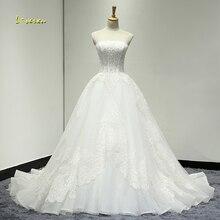 Loverxu Robe De Mariee Sexy Wedding Dress 2019 Court Train