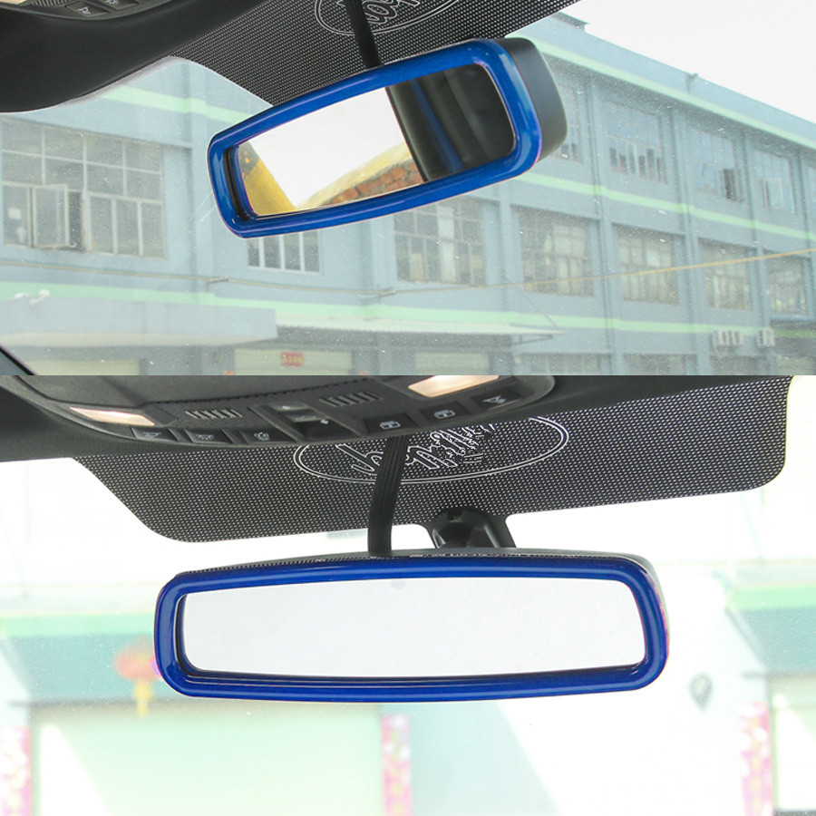 YAQUICKA Auto Autoinnenspiegel Rahmen Trim Abdeckung Auto styling ...