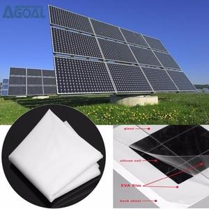Image 1 - EVA Film Blatt DIY Solarzelle Panel Modul Paket Kapselung 1000x50 0x 0,3mm