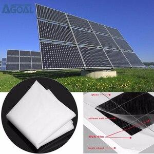 Image 1 - EVA Film Sheet DIY Solar Cell Panel Module Package Encapsulation 1000x500x0.3mm