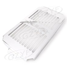 For HONDA VTX1800 VTX 1800 Radiator Grille Grill Guard Cover 2002 2003 2004 2005 2006 2007 2008 Motorbikes Accessories(China)