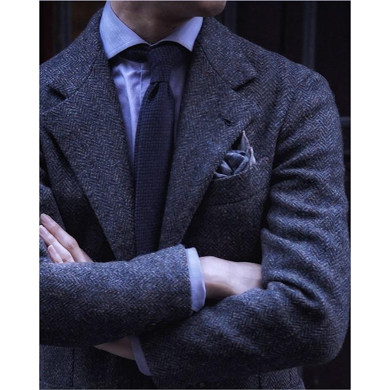 Custom Made To Measure Mens Tweed Jacket Men, Mens Herringbone Coat, Custom Mens Tweed Coat Tweed Spring And Summer Fall Winter