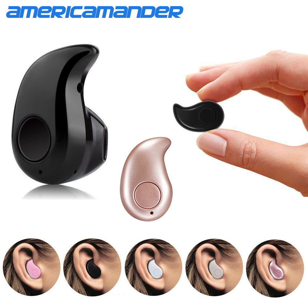 Mini Style Wireless Bluetooth Earphone S530 V4.1 Sport Headphone Phone Headset With Micro Phone For Iphone Mobile Phone PC