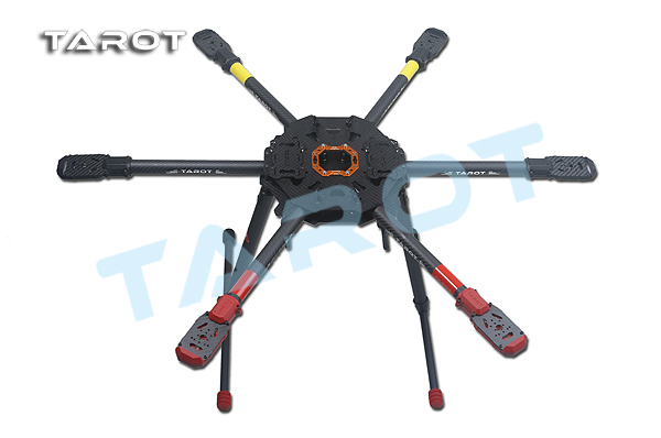 Tarot 810 Sport FPV 6-axle Hex-copter foldable frame Electric Retract Landing Skid upgrade version of T810 TL810S01