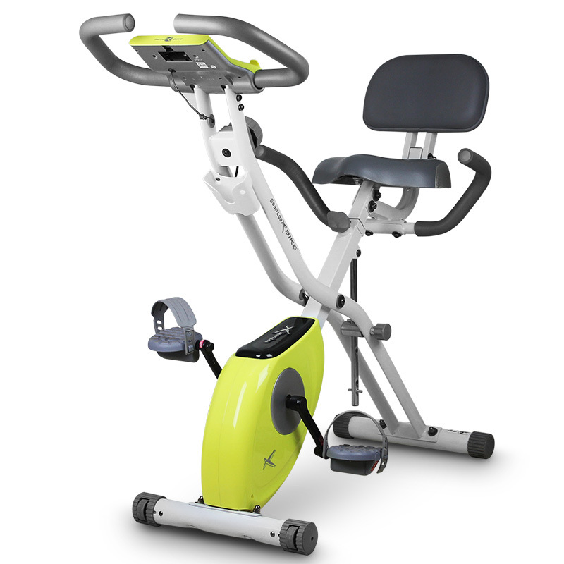 Home Exercise Equipment Bikes: ICB KC 03 Folded Home Magnetic Control Exercise Bicycle