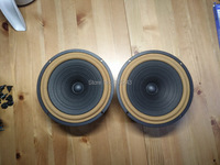 pair MeloDavid HiEND 6.5inch DIATONE P610R rebuild MK4 fullrange speaker ( aluminum frame version)