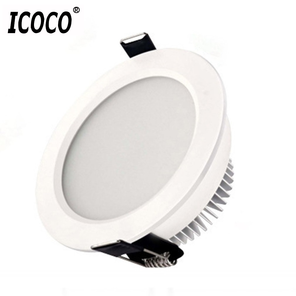 ICOCO 2-Inch 3W Super Bright LED Ceiling Lamp Flush Mount Lighting Lamp Living Room Decoration Lamp With Good Heat Dissipation