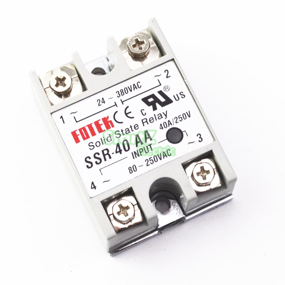1pcs SSR-60AA 60A Solid State Relay Module 80-250V AC Input 24-380VAC high quality ac ac 80 250v 24 380v 60a 4 screw terminal 1 phase solid state relay w heatsink