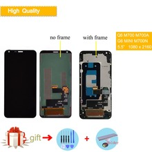 5.5 Original Display For LG G6 Mini LCD Touch Screen with Frame Q6 M700 M700A MINI M700N US700 M700H M703 M700Y