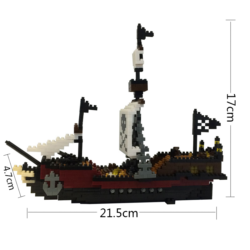 YZPirate RMS Titanic Ship Model Action Figure ABS Bricks Building Blocks Educational Toys for Children Kids Christmas Xmas Gifts dayan gem vi cube speed puzzle magic cubes educational game toys gift for children kids grownups