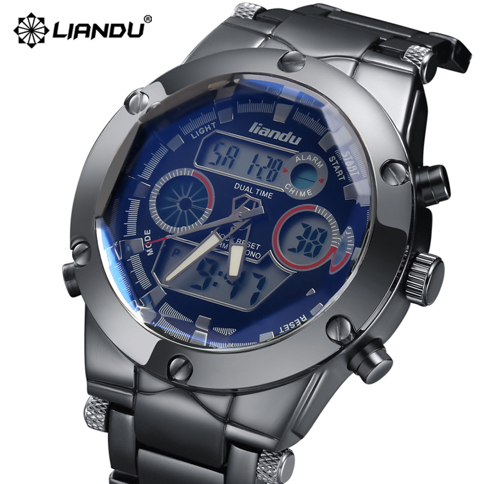 climbing watch luxury brand men liandu sports mens watches fashion casual hour clock male