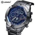 Reloj marca de lujo de los hombres de escalada liandu deportes para hombre relojes moda y casual horas reloj de hombre relojes de pulsera reloj hombre 2017