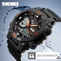 Mens Watches Top Brand Luxury Men Military Watches LED Digital Analog Quartz Watch Sports Wrist Watch
