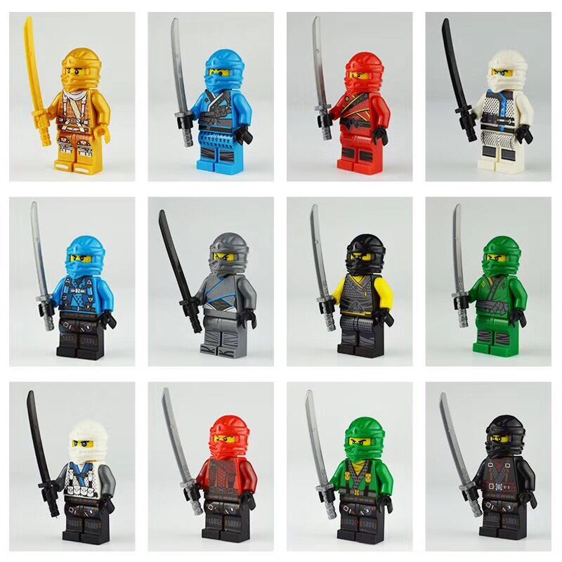 600Pcs set New Series Ninja Kai Jay Lloyd Bricks Building Blocks Figures Toys For Boys Gift