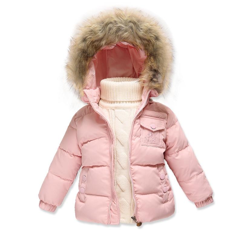 Winter style Girls down jacket font b Boys b font girl Children toddler down jacket font