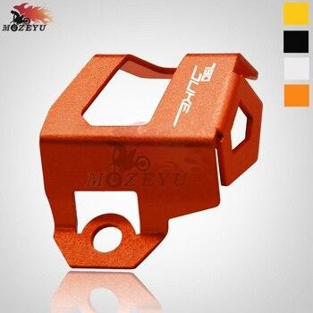 6c7f415243a Para KTM 790 funda protectora de depósito de líquido de freno trasero CNC  de motocicleta