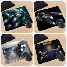Wholesale Cheap Custom Battlestar Galactica Science Fiction TV Series Comfort Mouse Pad Mouse Mat Gift 250x290x2mm 180X220X2mm