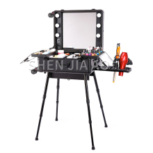 Светодиодный светильник ed косметический чехол с рычагом, универсальная коробка для хранения колес, студийный специальный светильник для макияжа, съемный косметический Чехол, 1 шт