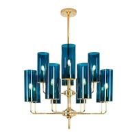 Nordic Chandelier Lighting Post modern Luxury Hang Lamp Glass Pendant Lamp Living Room Dining Room Lights Home Decor Luminaries
