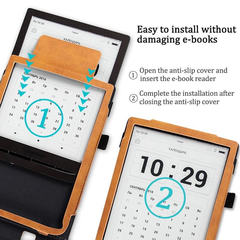 BOZHUORUI Smart Case fits 7 8'' Pocketbook 740 InkPad 3