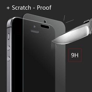 Image 5 - Ronican Frosted Matte Glas Voor Iphone Se Gehard Glas 9 H Hardheid Iphone 6 7 Explosieveilige Beschermende Glas voor Iphone 5s 4