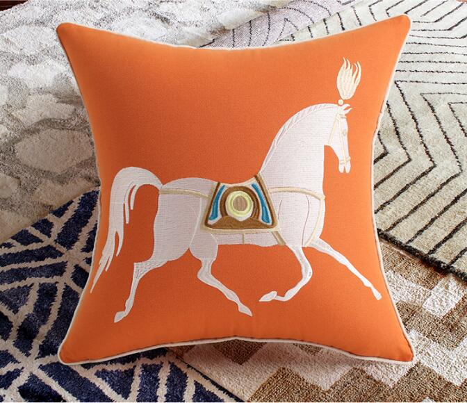 Brand Animals Pattern Decorative Throw Pillows Cushion Cover