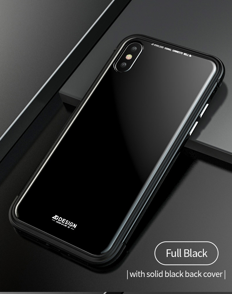 LUPHIE Aurora Laser Case Cover For iPhone X 7 8 Plus clear glass case  (7)