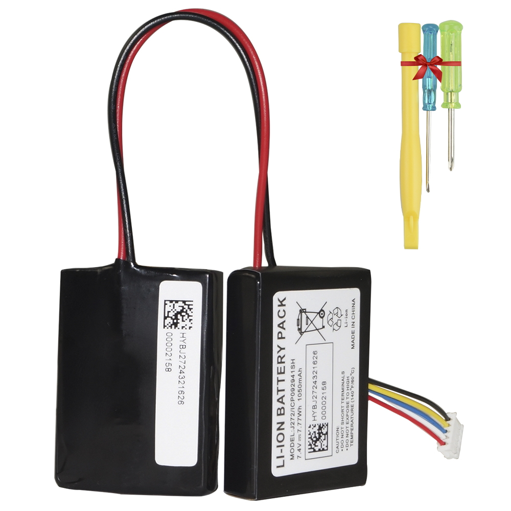 Hixon 1050mAh 7.4V ICP092941SH replacement battery for Beats <font><b>Pill</b></font> 2.0 wireless portable <font><b>bluetooth</b></font> <font><b>speaker</b></font>