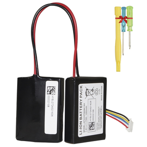Image 2 - Hixon 1050mAh החלפת סוללה עבור Beats הגלולה 2.0 אלחוטי נייד bluetooth רמקול 7.4V ICP092941SH