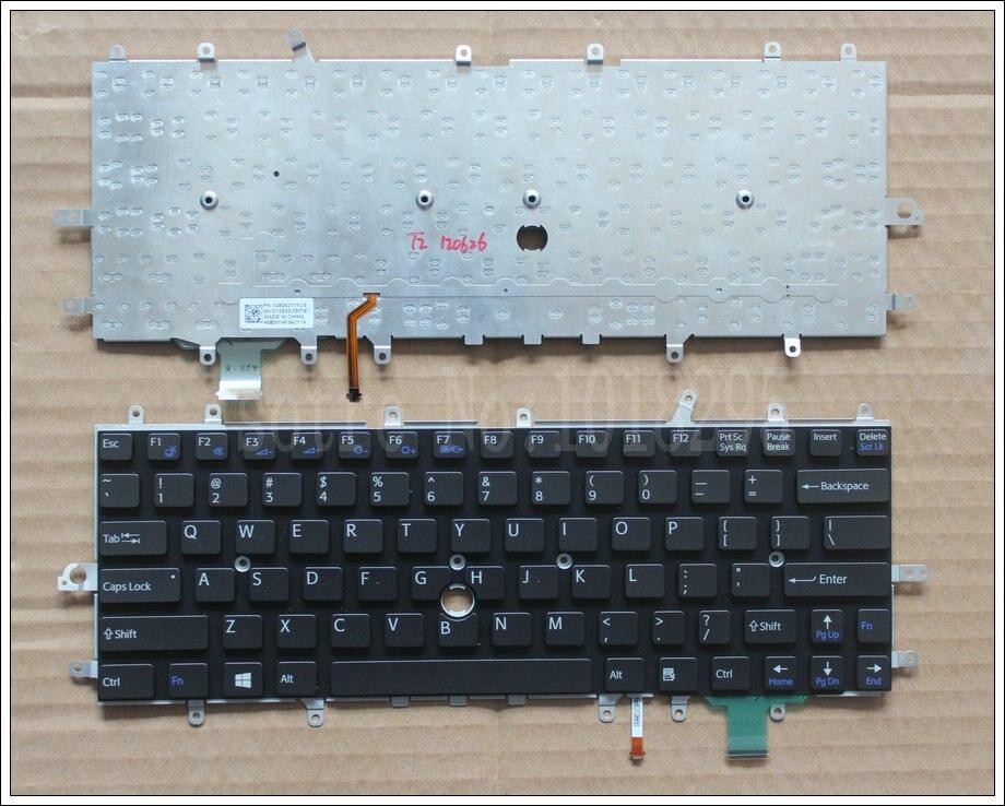 Nouveau clavier d'ordinateur portable pour sony vaio Duo 11 SVD11 D11 SVD11218CCB SVDII219CC SVD112A1SW us clavier rétro-éclairé