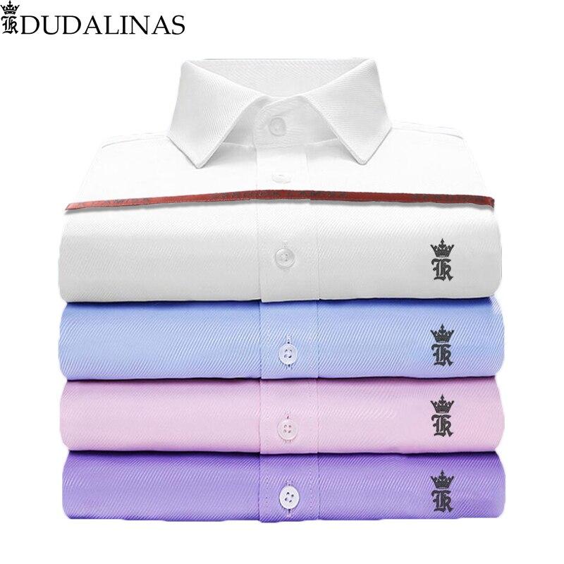 Sergiok Camisa Men Shirt Male Dress Twill Shirts