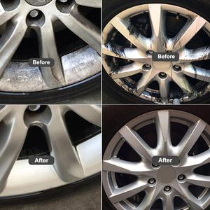 Image 3 - Очистка ступицы колеса 500 мл, очистка автомобиля, стальное кольцо из нержавеющей стали, удаление ржавчины, железный порошок