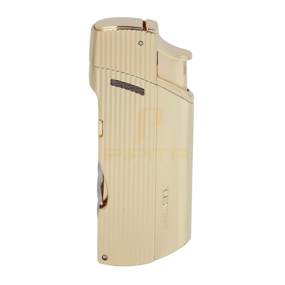 LUBINSKI Cigar Lighter Windproof Cohiba Butane Gas