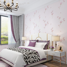 European Style Flower Wallpaper Boy Girl Room Bedroom Living Wall Paper Roll