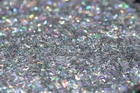Holographic Silver Sequin Bar shaped Glitter for slime, tinsel shape, glitter wholesale craft supplies, bulk