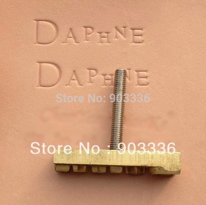 custom design leather hot foil embossing dies stamping digital alphabet for leather stamp diy. Black Bedroom Furniture Sets. Home Design Ideas