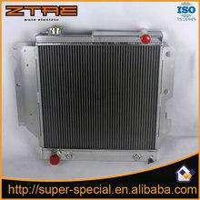Alto desempenho Radiador De Alumínio do carro Apto para JEEP WRANGLER YJ/TJ L4 2.4L-4.2L L6/87-06 Peças de Motores de Automóveis Sistema de Arrefecimento