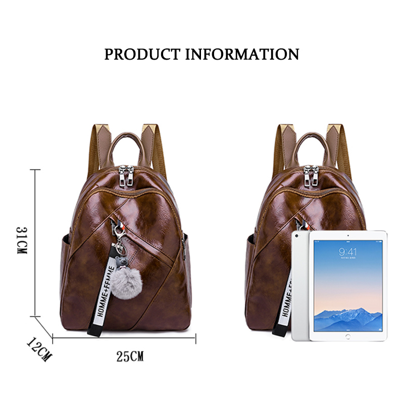 2019 Latest Girl Backpack Trend Design Mobile Phone Change Daily Necessities Female Bag Beautiful Personality Woman Backpack 5