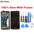 For Oneplus one LCD Display Screen+Touch Screen with Frame Assembly Replacement For Oneplus one Smart Phone Free Shipping