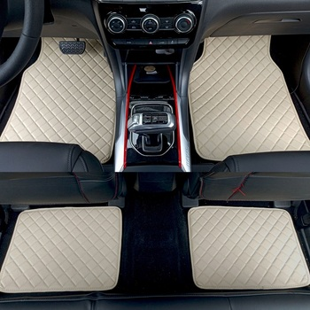 ZHAOYANHUA Universal car floor mats for all models Mercedes Benz w211 gla w176 w204 glk w212 w205 c180 w245 w246 Car styling image