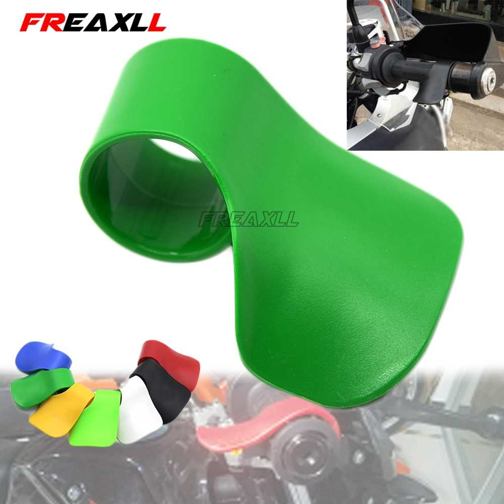 Throttle Sepeda Motor Clamp Throttle Booster Handle Klip Grip untuk Kawasaki Ninja 650r 300 Er6f Er6n F Z750 Z800 Z1000 Zx9r ZX10R