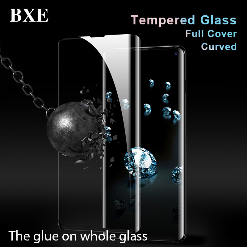 BXE 9D Curved Full Cover Screen Protector For Samsung Galaxy S10 S9 S8 Plus S10e Note