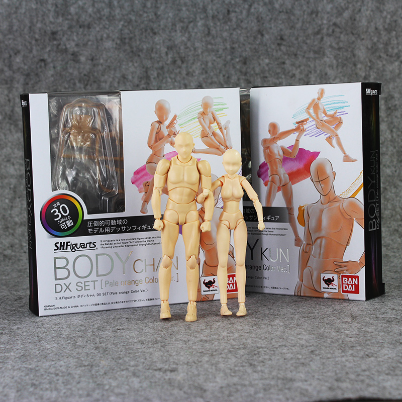 2 Style Figma BODY Archetype He She skin color 13cm Ferrite PVC Action Figure Figma Figure Model Doll archetype transparent ver she