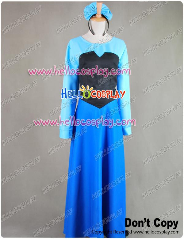 La petite sirène Ariel Cosplay Costume robe H008