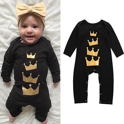 Baby Kids Boy Girl Warm Infant Romper Jumpsuit Cotton Clothes Outfit Baby Stuff Autumn Clothes