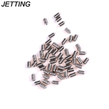 JETTING 50Pcs/lot DIN914 M3 M4 M5 304 Stainless Steel Grub Screws Cone Point Hexagon Hex Socket Set Screws Wholesale