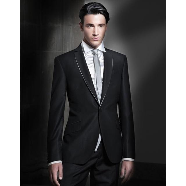 2017 nouveau costume homme mari smoking hommes costume de. Black Bedroom Furniture Sets. Home Design Ideas